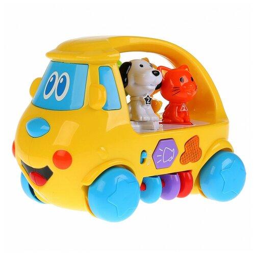 Купить Игрушка УМка Автобус развивающий 261636, Умка, Развивающие игрушки