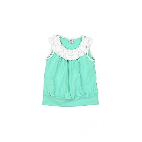 Купить Футболка Mini Maxi 0719, цвет зеленый, размер 116, Футболки и майки
