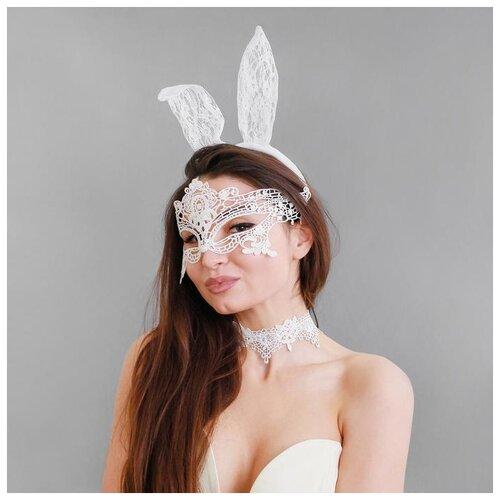 Карнавальный набор Давай поиграем? ободок-ушки+чокер+маска 4151726