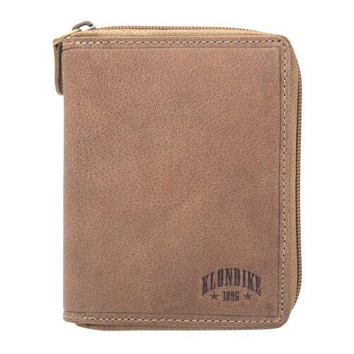 портмоне klondike 1896 tony натуральная кожа коричневый Портмоне KLONDIKE 1896 Dylan, натуральная кожа коричневый