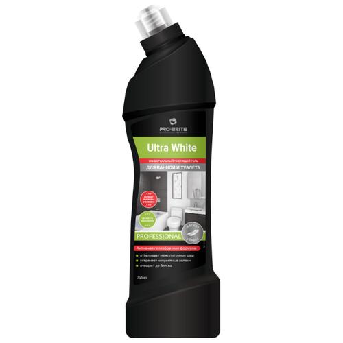 Фото - Pro-Brite гель для ванной и туалета Ultra White Свежесть эвкалипта, 0.75 л pro brite гель для сантехники active shine bleach cleaner цветочная свежесть 0 75 л