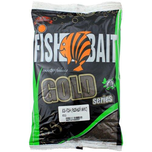 Прикормочная смесь FishBait Gold Big Fish рыбный микс 1000 г