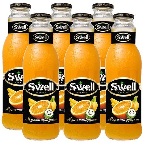 Фото - Нектар Swell Мультифрукт, 0.75 л, 6 шт. нектар juicer облепиха без сахара 0 25 л 10 шт