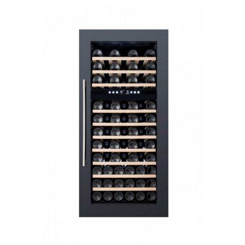 Встраиваемый винный шкаф Dunavox DX-74.230 DB встраиваемый винный шкаф dunavox dx 166 428dbk