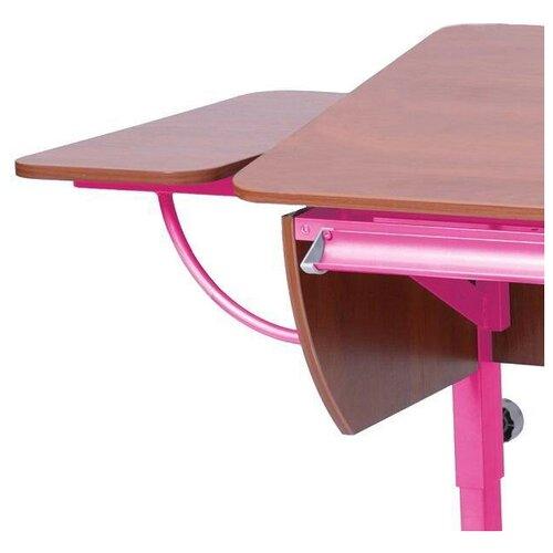 Приставка к столу Астек-Элара боковая приставка к партам яблоня/розовый