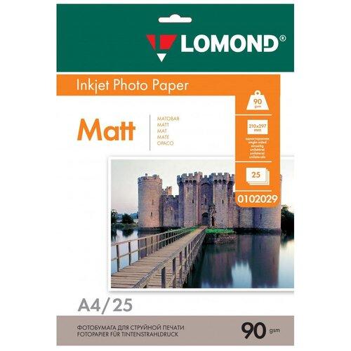 Фото - Бумага Lomond A4 0102029 90 г/м² 25 лист., белый бумага lomond a4 2100001 70 г м2 100 лист