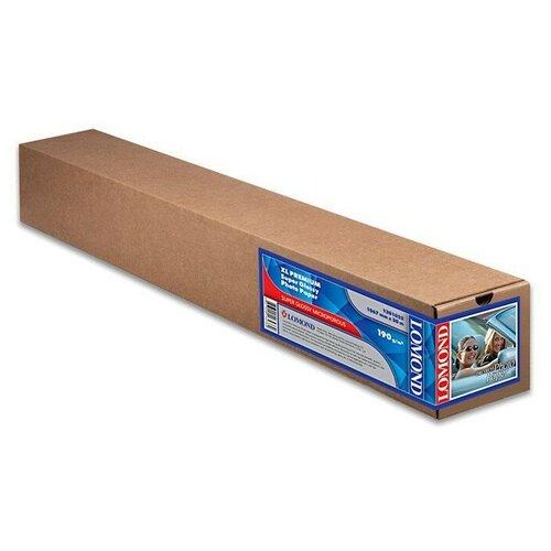 Фото - Бумага Lomond 1067 мм XL Premium Super Glossy 1201033 190 г/м² 30 м, белый бумага lomond 914 мм xl premium super glossy photo paper 1201032 190 г м² 30 м белый