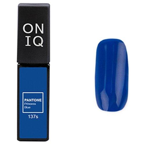 Купить Гель-лак для ногтей ONIQ Pantone, 6 мл, 137S Princess Blue