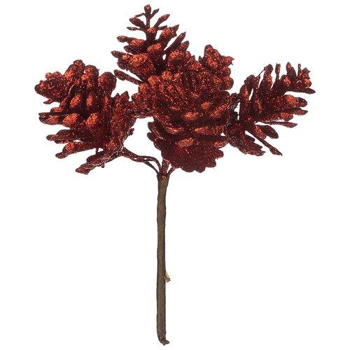 Елочная игрушка Lefard 535-205/535-206/535-207, красный, 13 см