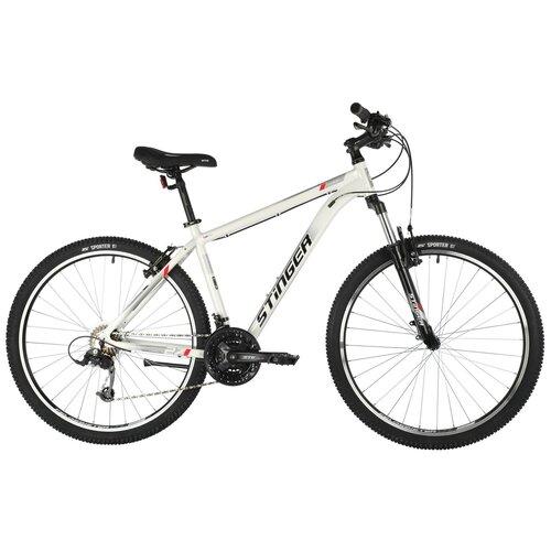 Горный (MTB) велосипед Stinger Element STD MS 27.5 (2021) белый 20 (требует финальной сборки)