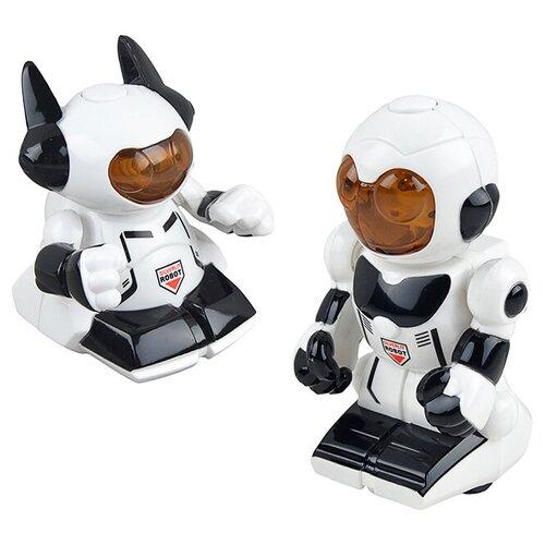 Фото - Робот Silverlit Mini Pals белый интерактивная игрушка робот silverlit macrobot оранжевый
