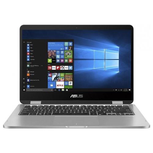14 Ноутбук ASUS VivoBook Flip 14 TP401MA-EC323T (1920x1080, Intel Pentium Silver 1.1 ГГц, RAM 4 ГБ, SSD 256 ГБ, Win10 Home), 90NB0IV1-M08890, light grey ноутбук asus vivobook flip 14 tp412fa 90nb0n31 m02610