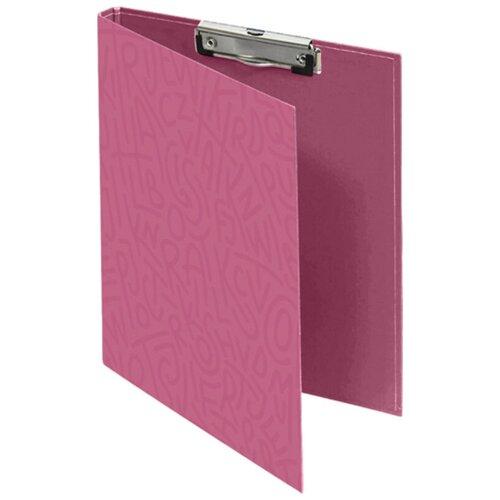 Купить LAMARK450 Папка-планшет с крышкой Delight Time А4, с верх. заж., ламин. карт., кор. 10 мм, смородина, Файлы и папки