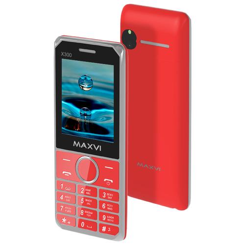 Телефон MAXVI X300 красный