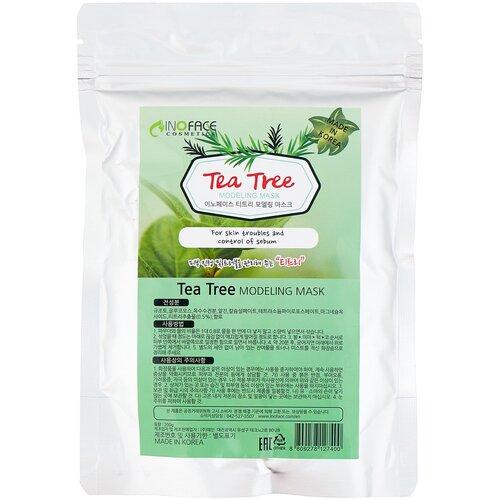 Inoface Альгинатная маска Tea Tree Modeling, 200 г inoface альгинатная маска yoghurt modeling 15 г