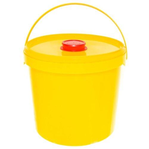Контейнер Самарский Завод Полимерных Изделий с иглосъемником (класс Б), 3.3 л желтый