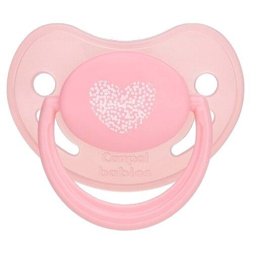 Пустышка силиконовая анатомическая Canpol Babies Pastelove 6-18 м, розовый, Пустышки и аксессуары  - купить со скидкой