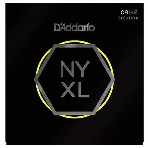 D`ADDARIO NYXL0946 SUPER LIGHT 9-46 Струны для электрогитары, толщина 9-46
