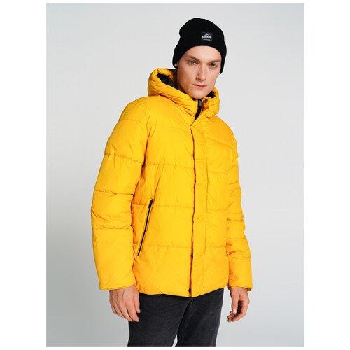 Куртка на синтепоне у ТВОЕ A6623 размер L, желтый, MEN