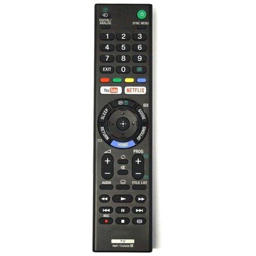Оригинальный пульт Sony RMT-TX300E для телевизоров Sony 2017-2021 года