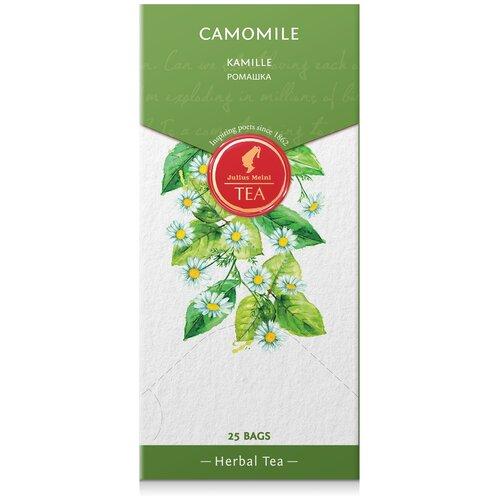 julius meinl семь морей чай улун листовой 50 г Чай травяной Julius Meinl Camomile в пакетиках, 25 шт.