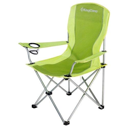 Кресло KING CAMP Arms Chair складное cталь 84Х50Х96 зеленое