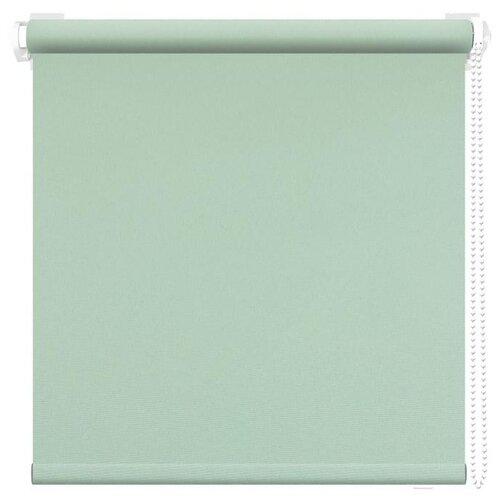 Рулонная штора АС Форос Плейн (Светло-зеленый), 85х175 см