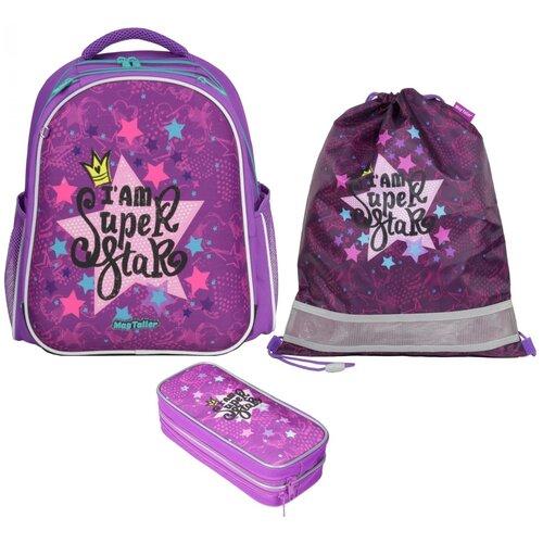 Фото - Рюкзак школьный MagTaller Stoody II, Super Star, с наполнением magtaller рюкзак stoody butterfly синий