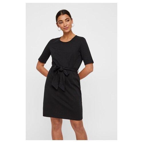 Платье Vero moda 10212307 женское Цвет Черный Black Однотонный р-р 40 XS майка vero moda 10212778 размер xs черный