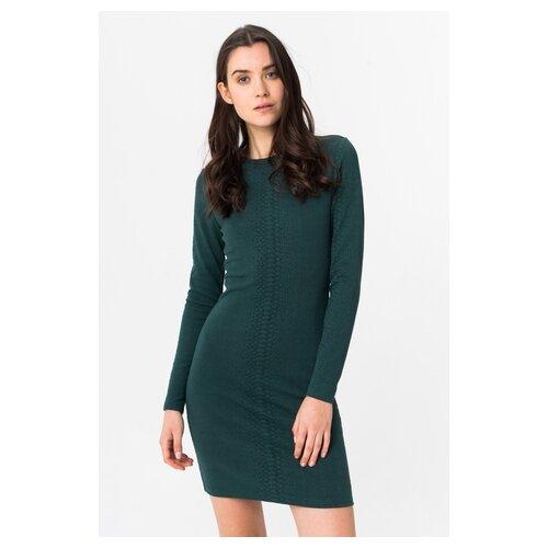платье only only on380ewcaxr7 Платье ONLY 15191260 женское Цвет Зеленый Ponderosa pine Однотонный р-р 44 M