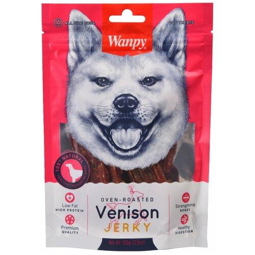 филе из оленины wanpy dog 100г Лакомство для собак Wanpy Филе из оленины, 100 г