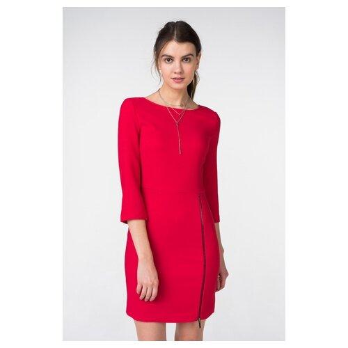 платье befree 1911090507 женское цвет красный 70 однотонный р р 42 xs 170 Платье befree 1911090507/ женское Цвет Красный 70 Однотонный р-р 42 XS/170