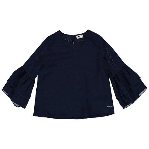 Купить Блузка MEK размер 128, синий, Рубашки и блузы