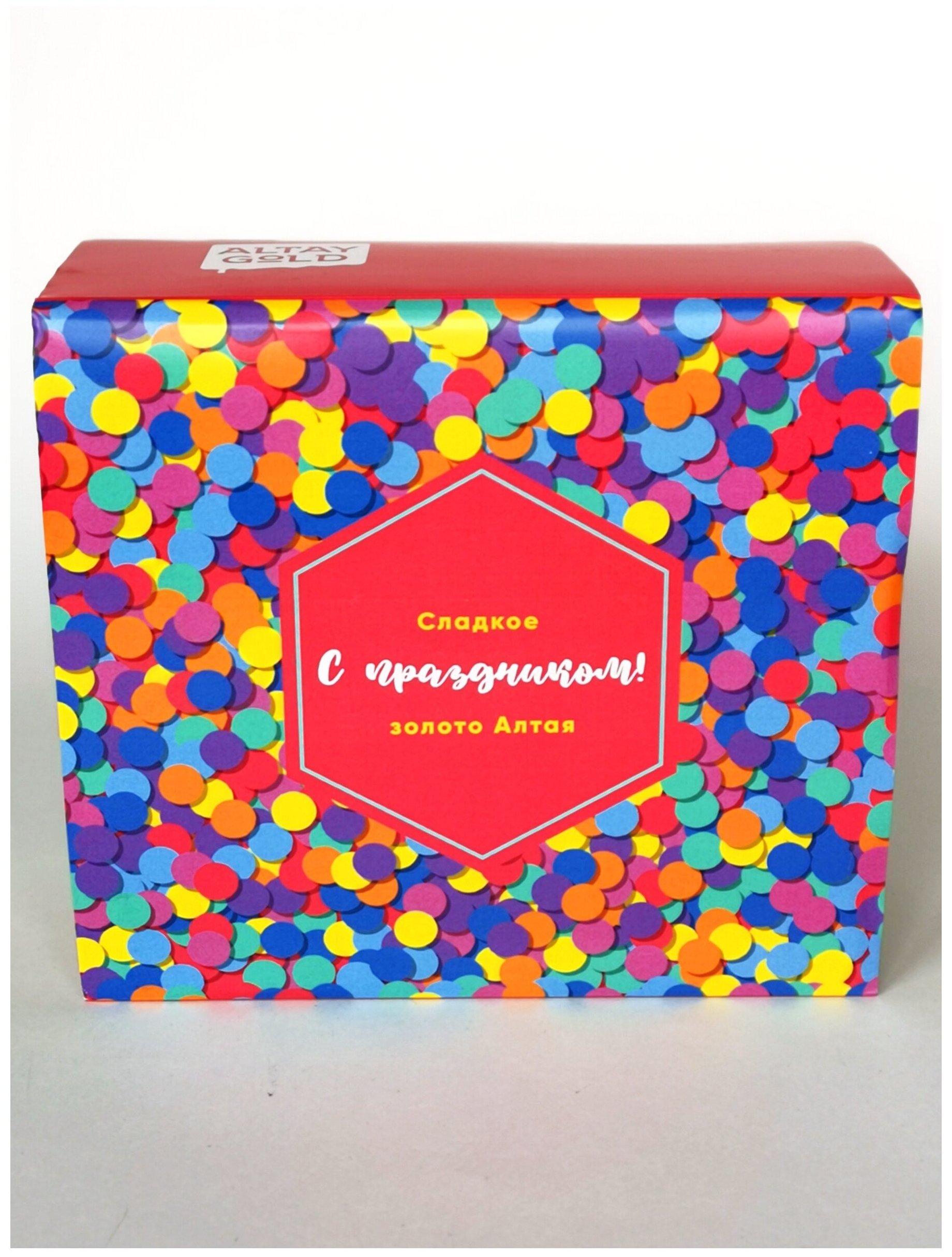Купить Подарочный набор Крем-мед 5шт по 125гр в подарочной коробочке Altay Gold / Мёд подарочный по низкой цене с доставкой из Яндекс.Маркета