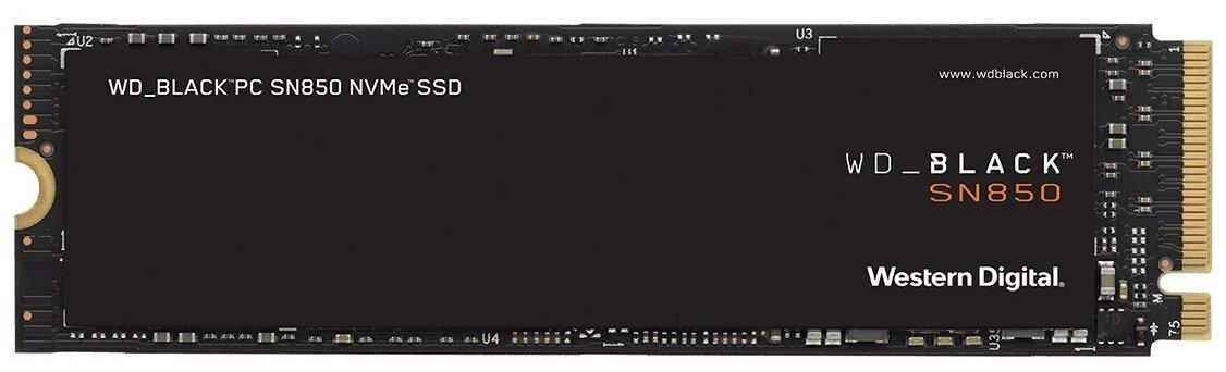 Твердотельный накопитель Western Digital WD Black NVMe 500 GB SN850 WDS500G1X0E-00AFY0 — цены на Яндекс.Маркете