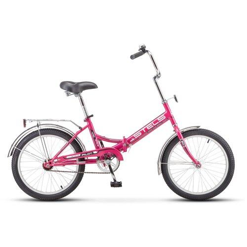 """Городской велосипед STELS Pilot 410 20 Z011 (2018) малиновый 13.5"""" (требует финальной сборки)"""