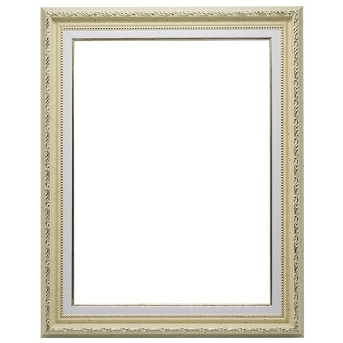 Купить Рама багетная для картины на подрамнике 30х40, VRBZ5124/молочный, LaKarti, Рамки