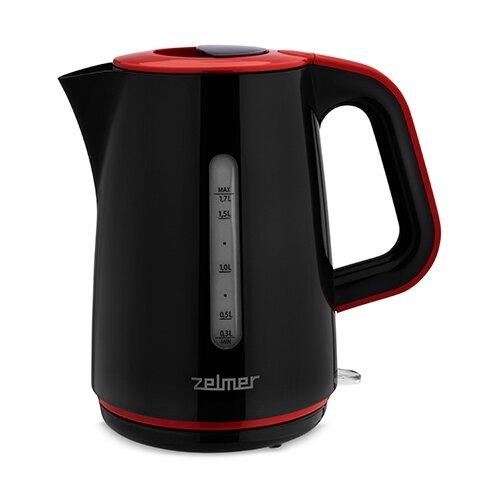 Чайник Zelmer ZCK7620, черный/красный