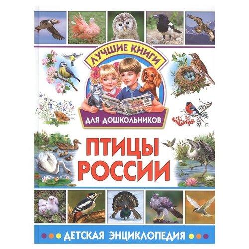 Лучшие книги для дошкольников. Птицы России. Детская энциклопедия