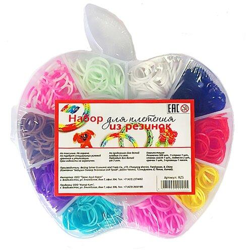 Набор Color Kit для плетения резинок Яблоко 660 шт. 5 видов деталей RZ5