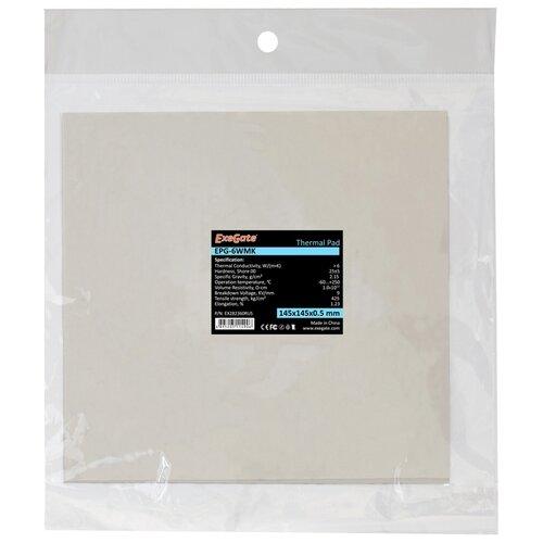 Термопрокладка ExeGate EPG-6WMK (EX282358RUS)