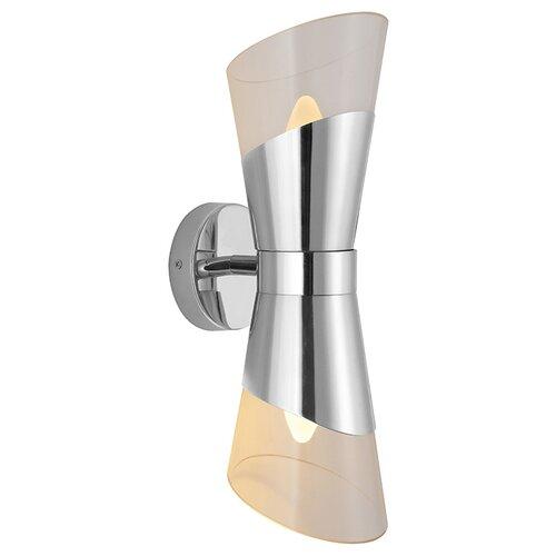 Настенный светильник Newport 3532/A nickel, 120 Вт настенный светильник newport 3361 a nickel 60 вт