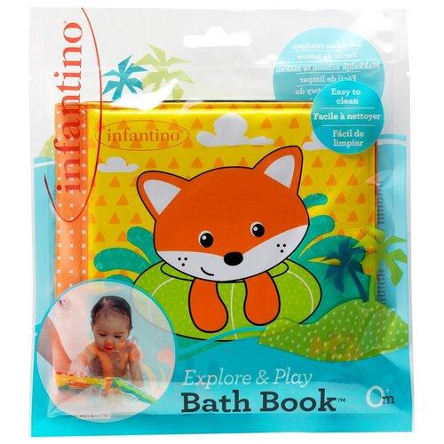 Купить Мягкая книжка для ванны, Infantino, Игрушки для ванной