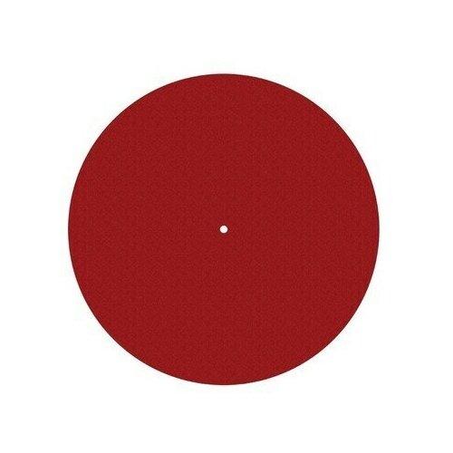 Мат для диска проигрывателя Pro-Ject FELT MAT 300mm Red