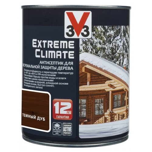 V33 Extreme Climate темный дуб 0.9 л