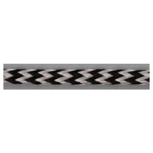 Шнуры PEGA плетеный, цвет черно-белый, 4,5 мм 100 % вискоза
