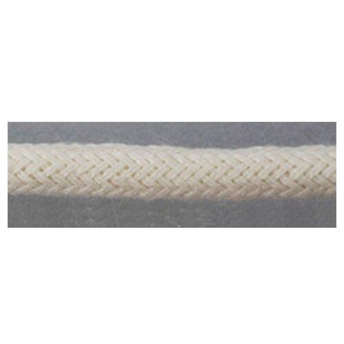 Шнуры PEGA плетеный, цвет белый, 5 мм 100 % вискоза