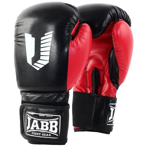 Перчатки бокс.(иск.кожа) Jabb JE-4056/Eu 56 черный/красный 10ун.