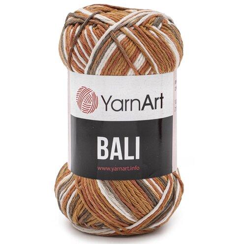 Купить Пряжа YarnArt 'Bali' 100гр 215м (80% хлопок, 20% полиэстер) (2112 секционный), 5 мотков