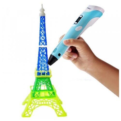 Купить 3D ручка Myriwell RP100B + 120 м пластика (Голубой), 3D-ручки